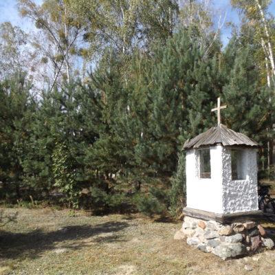 Kapliczka w puszczy Kampinoskiej