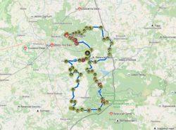 trasa rowerowa na Podlasiu dla indywidualnych